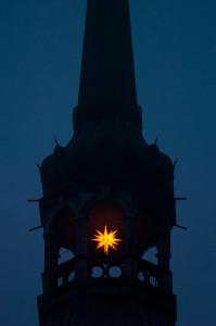 Kirchturm mit Stern 1