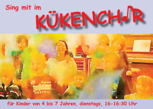 Postkarte Kinderchor